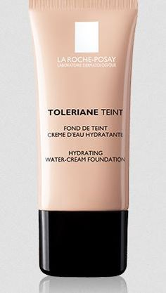 Toleriane Teint Hydrating water-cream foundation - Normal to dry sensitive skin. With its totally new, ultra-flexible texture and its hig level of water blended with hyaluronic acide, Tolériane Teint Hydrating water-cream controls visibly make-up hold and condition all day-long on normal to dry sensitive skin. Tested on sensitive to intolerant skin. Non comedogenic. Exists in 5 shades.