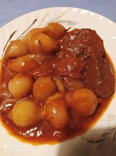 Greek Recipes, Chana Masala, Pot Roast, Recipies, Food And Drink, Cooking Recipes, Yummy Food, Beef, Stuffed Peppers