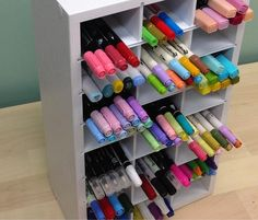 Marker Organizer-Perfect organizer to store those craft markers, pens, and pencils! Store over 350 of the most popular markers,including Stampin' Up,Copic, and many more!