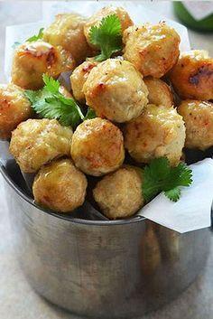 ΝΗΣΤΙΣΙΜΟΙ ΤΑΡΑΜΟΚΕΦΤΕΔΕΣ - LENTEN BALLS WITH PRESERVED FISH ROES #lenten #mount #athos #cuisine #mt #athos #monatic #recipes #monks #lent #meatballs #monastiriaka #proionta