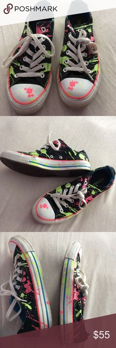 Converse ALL STAR Converse ALL STAR, used a few times, has pink and yellow colors, as shown on photos. Converse Shoes