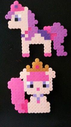 Princess Palace Pets perler bead - Beauty
