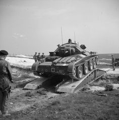 Covenanter tank of 6th Guards Armoured Brigade, British Guards Armoured Division…