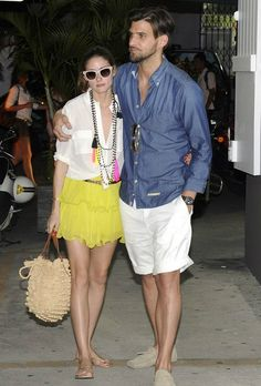 THE OLIVIA PALERMO LOOKBOOK: Olivia Palermo in St Barts with Johannes Huebl