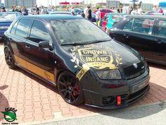 Decal to fit Skoda Powered by Skoda Motorsport RS side decal