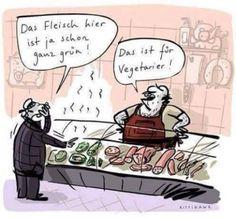 Fleisch für Vegetarier