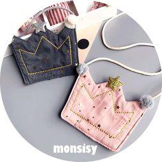 Pochette Diy, Diy Bags Purses, Marc Jacobs Handbag, Girls Bags, Little Bag, Small Bags, Baby Sewing, Handmade Accessories, Kind Mode