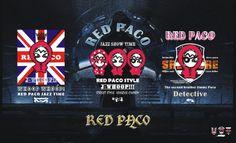 RED PACO FAMILY 紅帽客帕可家族三兄弟2014年1月初登場  J-WHOOP FASHION STYLE  DISIGN 圖相設計師 平凱文 版權所有未經本人同意
