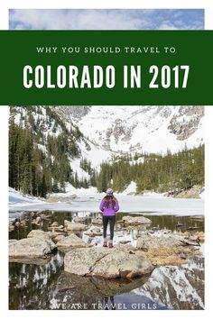 9 REASONS WHY YOU SHOULD TRAVEL TO COLORADO IN 2017! Recent charts show that Colorado is the second fastest growing state in the United States. It's not surprising given the State's insane mountains, epic snow, sunshine, sand dunes, hip cities and friendly people. Not ready to relocate? Well, your loss… BUT you still should add Colorado to your list of places to travel in 2017! By Renee Hahnel for WeAreTravelGirls.com Road Trip To Colorado, Colorado In The Summer, Denver Colorado Vacation, Colorado Vacations, Estes Park Colorado, Durango Colorado, Boulder Colorado, Colorado Springs, Sand Dunes Colorado