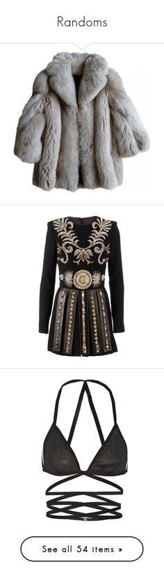 """""""Randoms"""" by lmxostyled ❤ liked on Polyvore featuring outerwear, jackets, coats, coats & jackets, dresses, short dresses, embroidery dress, long sleeve dress, beaded cocktail dresses and short beaded cocktail dresses"""