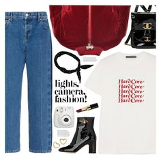 """""""lights, camera, fashion (TOP SET 28th DECEMBER)"""" by valentino-lover ❤ liked on Polyvore featuring Balenciaga, AlexaChung, Dolce&Gabbana, Chanel, Gucci, Fujifilm, Marc by Marc Jacobs and Bobbi Brown Cosmetics"""