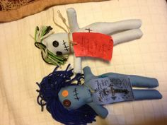 My voodoo dolls  -Rowley