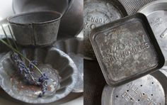 vintage tins and pans