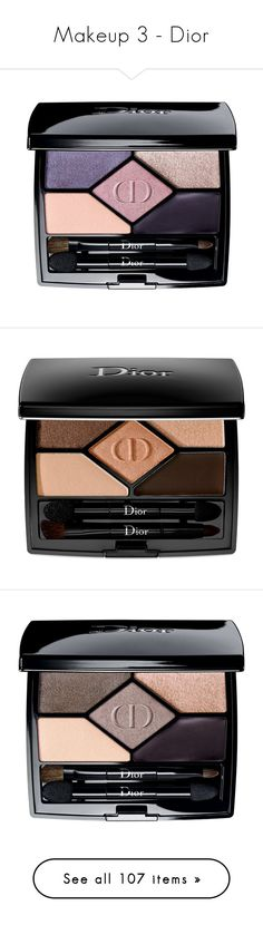 """Makeup 3 - Dior"" by middletondonna ❤ liked on Polyvore featuring beauty products, makeup, eye makeup, eyeshadow, beauty, purple, christian dior eye shadow, christian dior eyeshadow, palette eyeshadow and christian dior"