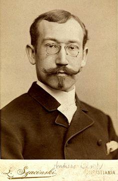 Kabinettfoto Andreas Bloch 1860-1917