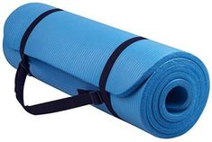 BalanceFrom GoYoga All-Purpose Extra Thick High Density Anti-Tear Exercise Yoga Mat with Carrying Strap Spend your time and energy in training yourself for spiritual fitness. Yoga Beginners, Yoga Equipment, Home Gym Equipment, Fitness Equipment, Best Gym, Best Yoga, Pilates Workout, Gym Workouts, Pilates Mat