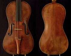 The 1726 'Braga' was one of the first Strads that Ehnes played. 'It's a fine, resonant instrument,' he says. Photos courtesy of Andrew Schaw
