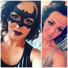 Batman Makeup for girls #batgirl #makeuptutorial