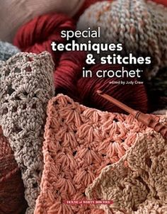 This easy stitch is perfect for an afghan or blanket. It is just sets of 3 stitches, one single crochet and two doubles.