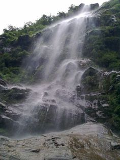 Waterfalls on way to Lachung, Sikkim Photo by Arnv G. -- National Geographic Your Shot