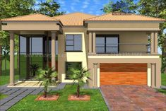 Interior Design For Bedrooms Best House Plans, Modern House Plans, House Floor Plans, Double Storey House Plans, Modern Small House Design, African House, Building Costs, Beautiful House Plans, Interior Decorating Tips