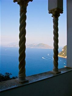 View of Capri, Villa San Michele, Capri, Italy