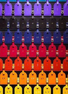 Louis Vuitton luggage tags