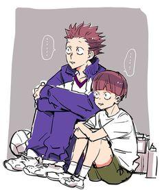 "El ""Guess Monster"" del Shiratorizawa está enamorado de su mejor amiga… #fanfic # Fanfic # amreading # books # wattpad Haikyuu Funny, Haikyuu Fanart, Haikyuu Ships, Haikyuu Anime, Hinata, Me Anime, Anime Guys, Anime Art, Bunka Pop"