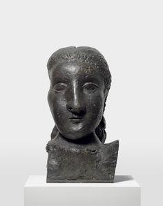 Pablo Picasso / Head of a Woman (Dora) / 1941 / bronze, one of four casts