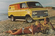 What beats playing chess on a beach with your mustache and a hottie? A VAN! Hell yeah.