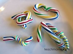Learn how to bend candy canes without breaking them.