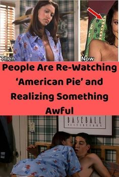 There's been a recent resurgence of people watching American Pie– and let me tell you, they are not happy with the sexism, misogyny, and lack of diversity. Ariana Grande, Adam Sandler Movies, Your Next Movie, Terrible Jokes, Something Awful, Two Movies, American Pie, Parks And Recreation, Its A Wonderful Life