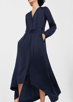 fa9d8303d573 Kleid mit asymmetrischem saum - Damen. Lange KleiderDamastFestival ...