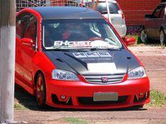 Honda Civic personalizado pela Ex Tuning