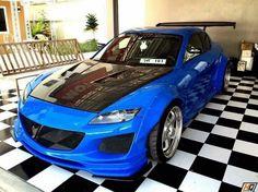#Mazda #RX8 #Wide_Body #Modified