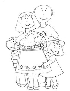 Free Dearie Dolls Digi Stamps: Thanksgiving at Gramma and Grampa's House Adult Coloring, Coloring Pages, Kids Calendar, Crafts For Kids, Diy Crafts, Digi Stamps, Xmas Cards, Cross Stitch, Card Making
