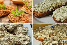 Tartine delicioase: Top 12 idei noi de paste tartinabile - simple, gustoase și sănătoase! - Bucatarul Romanian Food, Pesto, Baked Potato, Side Dishes, Sandwiches, Brunch, Food And Drink, Appetizers, Cooking Recipes