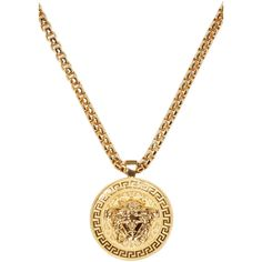 Xuping jewelry 24k gold jewelry fashion long gold chain necklace versace gold medusa medallion necklace mens gold necklacemens chain aloadofball Gallery