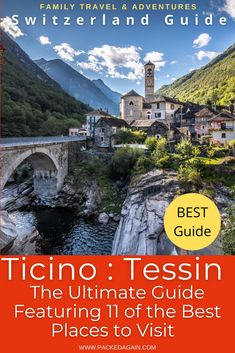 Best places to visit in Ticino Switzerland, featuring over 11 places the make you marvel and leave you in awe. Summer and autumn compared on some of the locations. Photography tips on when best to visit during the day and all put on a map. You want to visit Ticino Switzerland and want to find the best places to visit in Ticino Switzerland? Then this is your perfect guide to Ticino Switzerland, Travel Switzerland , Ticino summer , Lugano Ticino , when best to visit Ticino , Switzerland in…