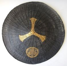Japanese, Other, Lacquer and more offered by The Zentner Collection. Carefully selected antique Japanese tansu and Asian art for sale Samurai Helmet, Samurai Armor, Family Crest, Green Man, Hat Making, Warfare, Asian Art, Japanese Art, Basket Weaving