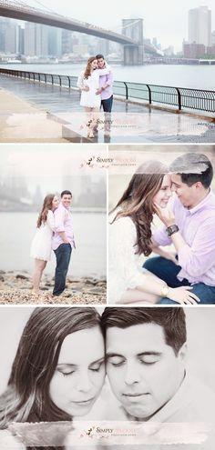 NYC engagement photography, manhattan engagement photographer, brooklyn bridge engagement photos