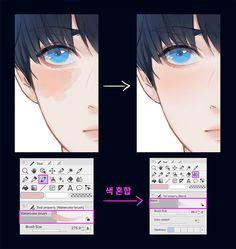 Digital Painting Tutorials, Digital Art Tutorial, Art Tutorials, Concept Art Tutorial, Digital Art Beginner, Digital Art Anime, Anime Poses Reference, Coloring Tutorial, Poses References