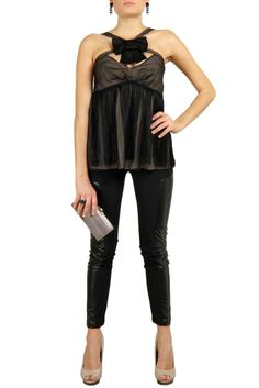 D&G Fringed Top and Acne Leggings: New Year's Eve Outfit Ideas - starbags.eu