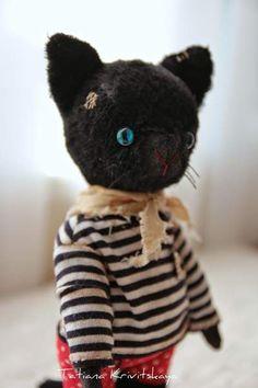 Cat Pirate by By Tatiana Krivitskaya   Bear Pile
