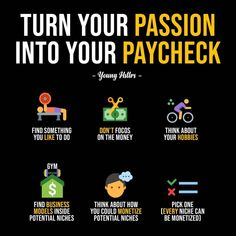 Turn Passion Into Pay - Ecommerce - Start your online business with 14 days free trial - - Turn Your Passion Into Your Paycheck! Business Coach, Business Money, Business Planning, Business Tips, Online Business, Business Writing, Financial Literacy, Financial Tips, Marketing Digital