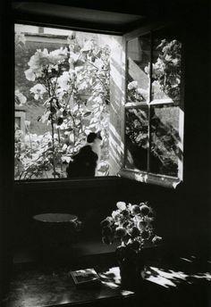 @ Édouard Boubat, Stanislas at the window, France, 1973