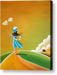 Cindy Thornton Canvas Prints - Special Delivery Canvas Print by Cindy Thornton