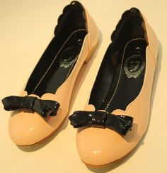 Autumn 2012 new fashion bowknot girls flat shoes SY-C1272 pink