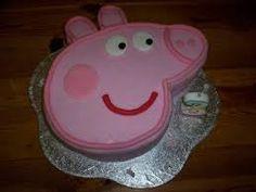 Resultado de imagen para como hacer una tarta con forma de peppa pig