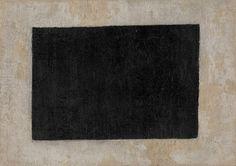 Black quadrilateral by Kazimir Malevich